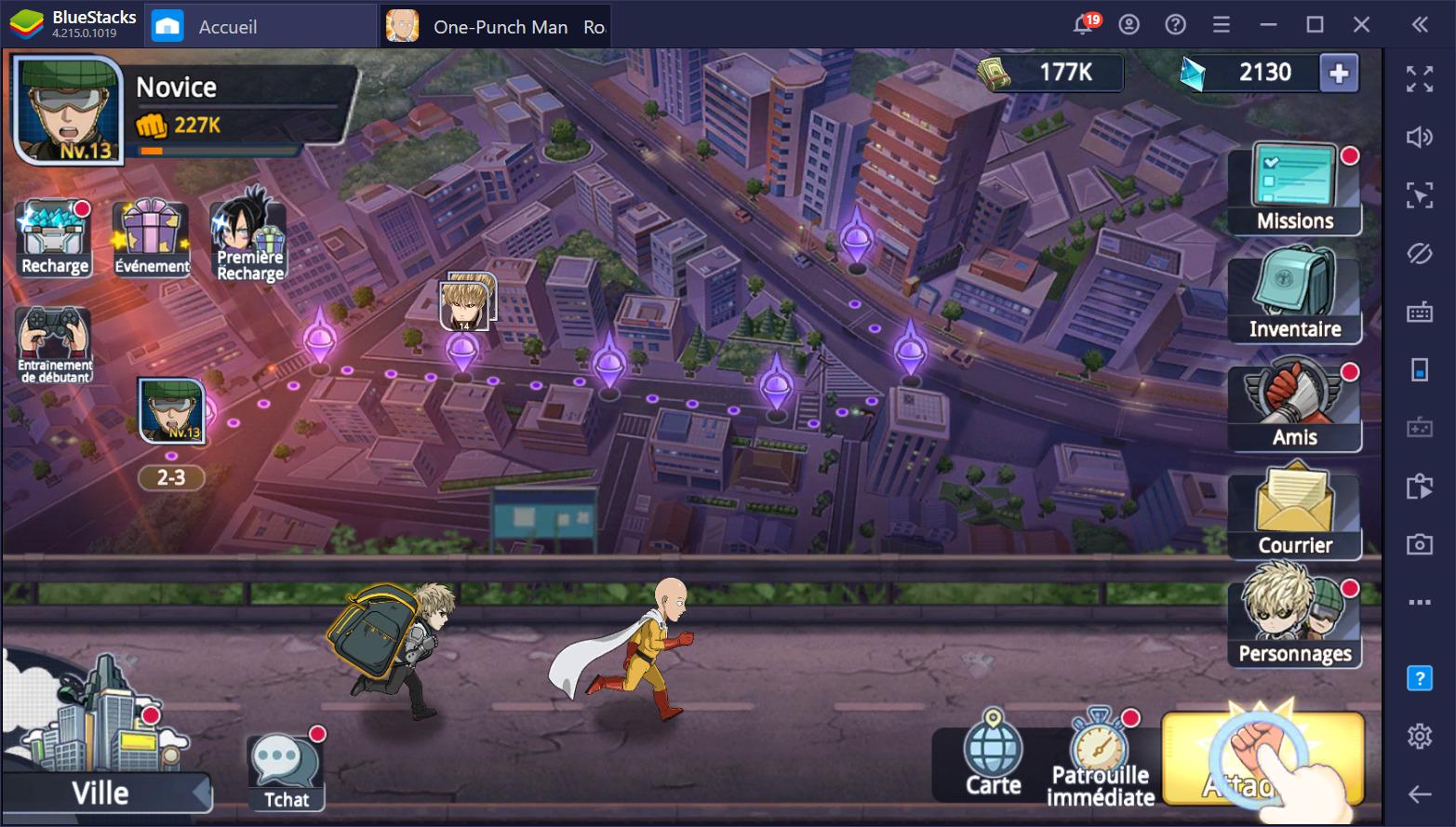 One Punch Man : Road to Hero 2.0 – Le reroll et les meilleurs héros du jeu
