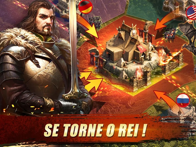 Jogue King of Avalon: Dragon Warfare para PC 20