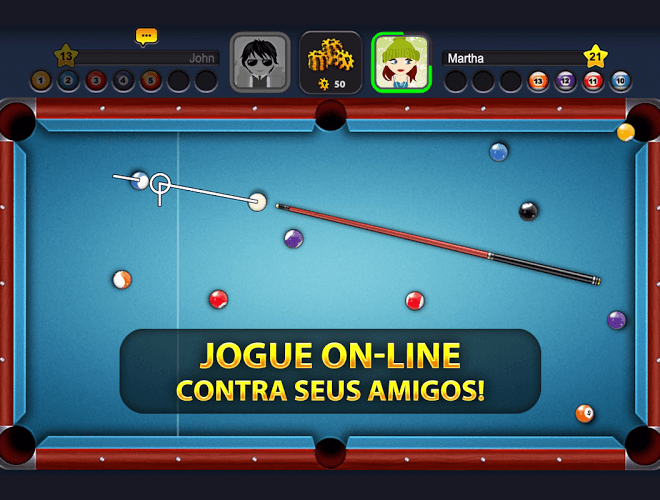 Jogue 8 Ball Pool para PC 12