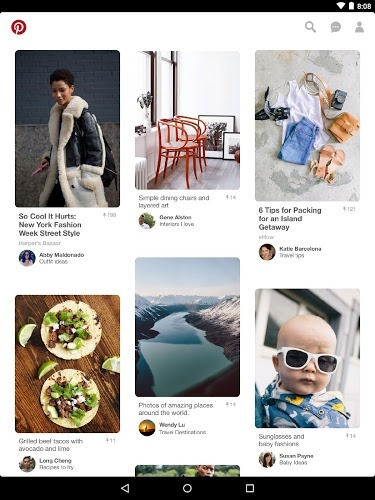 إلعب Pinterest on PC 8
