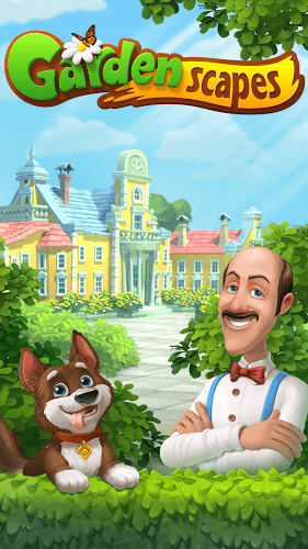 Играй Gardenscapes on pc 7