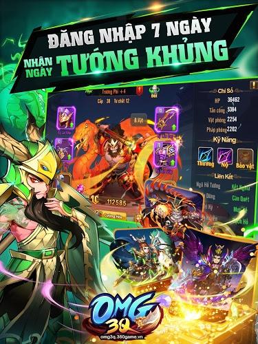 Chơi OMG 3Q – Đấu tướng chiến thuật cực mạnh on PC 4
