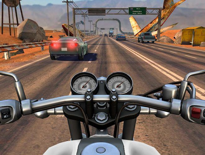 Play Moto Rider GO: Highway Traffic on PC 3