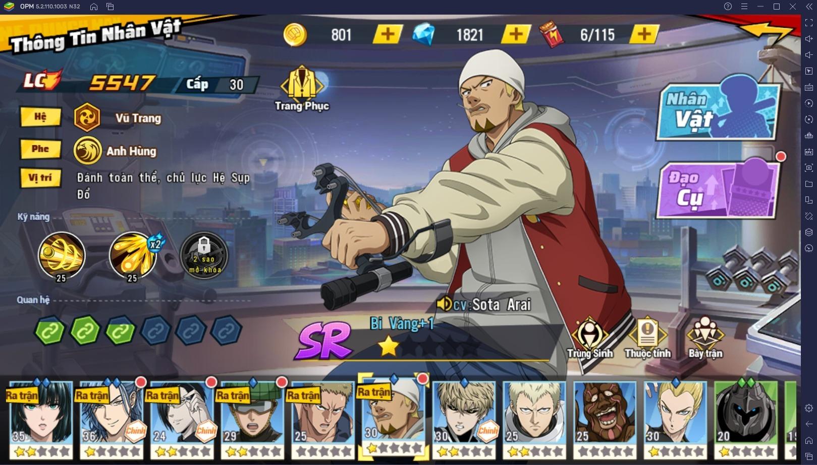 One Punch Man: The Strongest: Các mẹo hữu ích mà bạn nên biết
