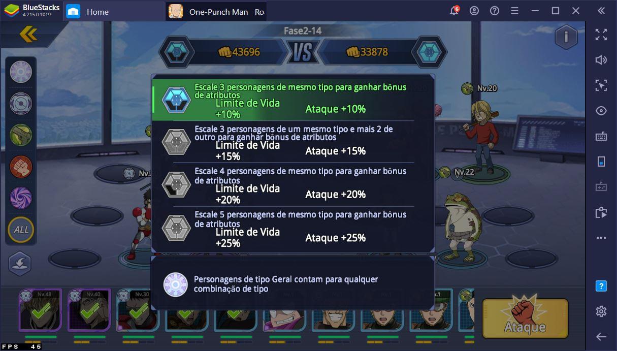 Aprenda tudo sobre o sistema de combate do One-Punch Man: Road to Hero 2.0