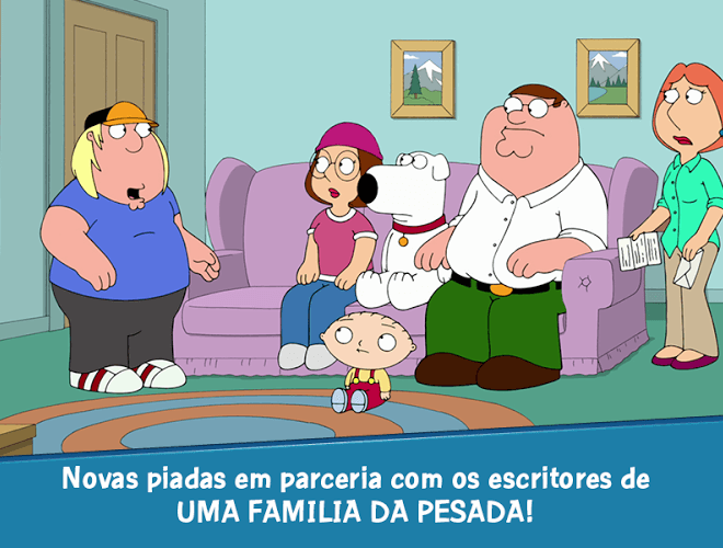 Jogue Family Guy: The Quest for Stuff para PC 12