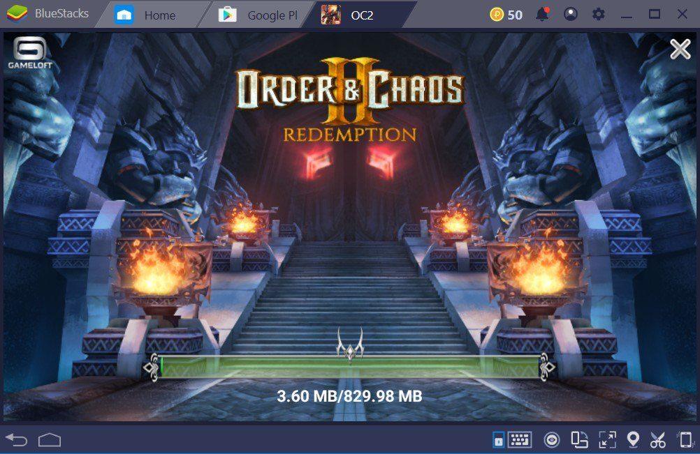 Tirando proveito de BlueStacks em Order & Chaos 2
