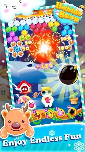 Play Bubble Snow on pc 4