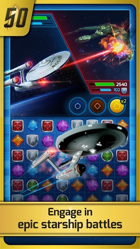 즐겨보세요 Star Trek ® – Wrath of Gems on PC 4