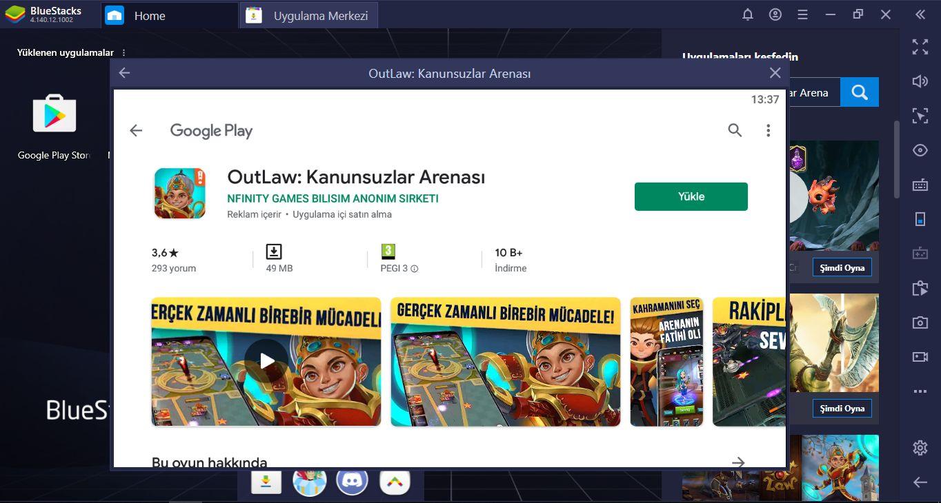 Outlaw: Kanunsuzlar Arenası İçin BlueStacks Kurulum Rehberi