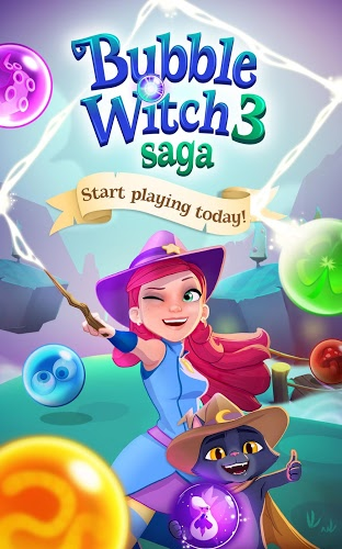 Chơi Bubble Witch 3 Saga on PC 13