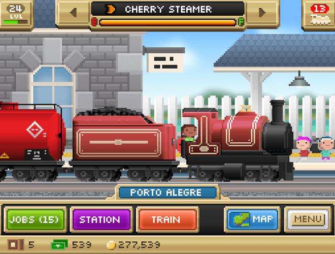 Играй Pocket Trains На ПК 13