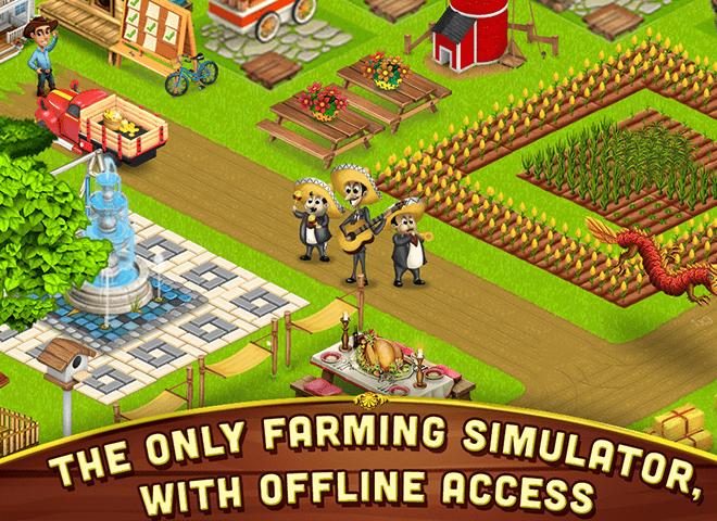 เล่น ฟาร์มขนาดใหญ่เล็ก ๆ น้อย ๆ on PC 5
