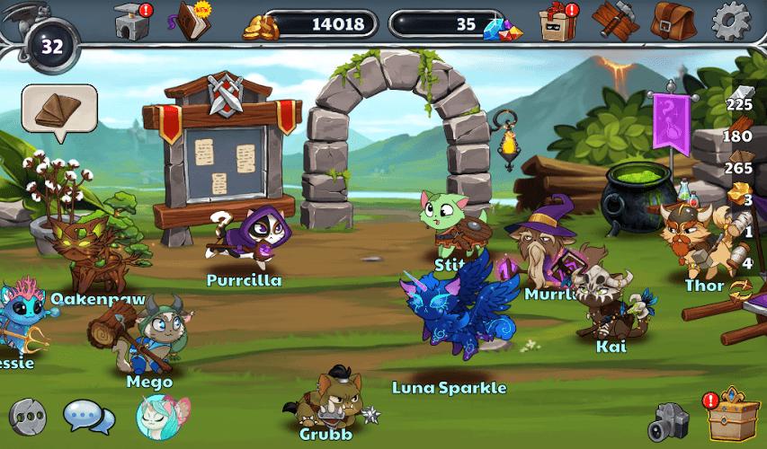 Играй Castle Cats На ПК 8