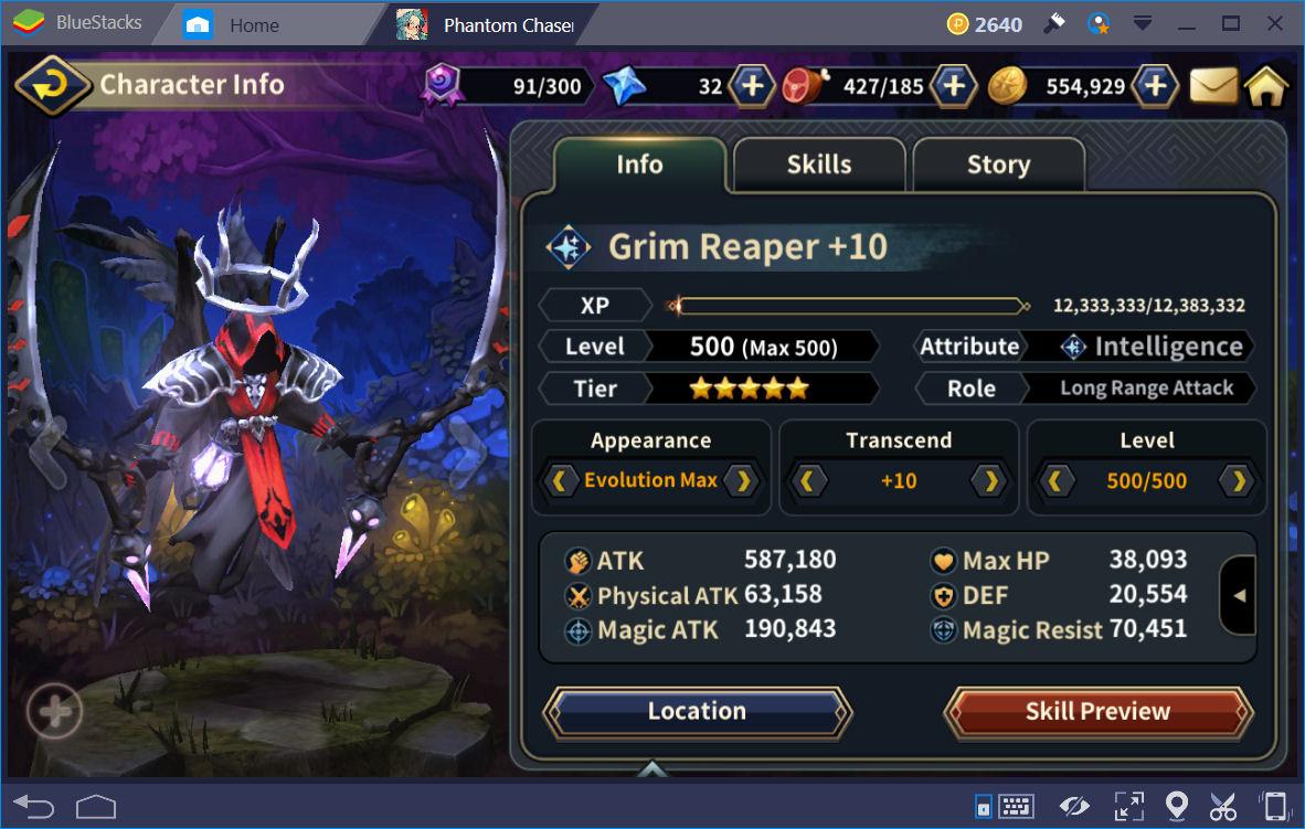 Phantom Chaser Grim Reaper