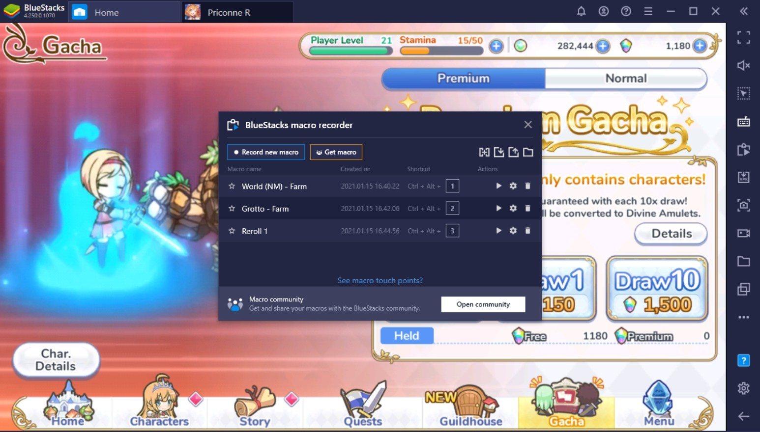 Comment jouer à Princess Connect! Re: Dive sur PC avec BlueStacks