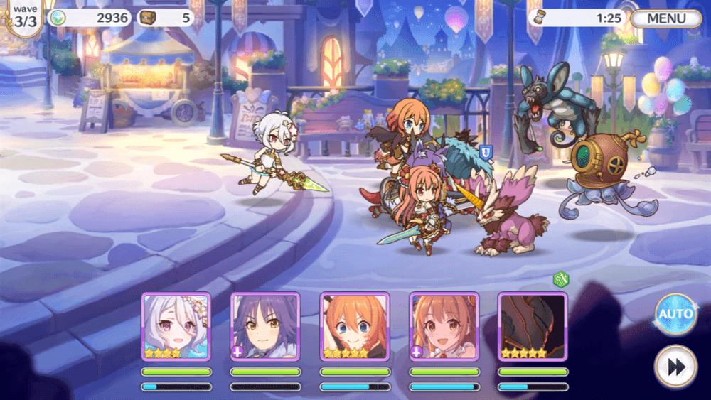 Aperçu de Princess Connect! Re Dive – Introduction aux bases du Gameplay