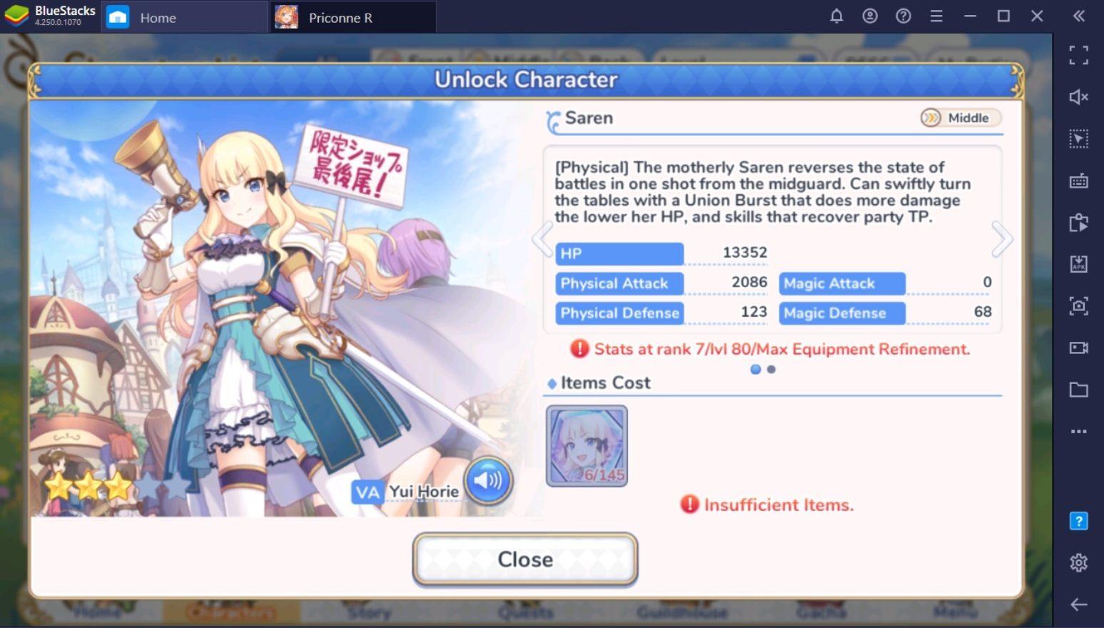 Top 5 des personnages de Princess Connect! Re: Dive Global