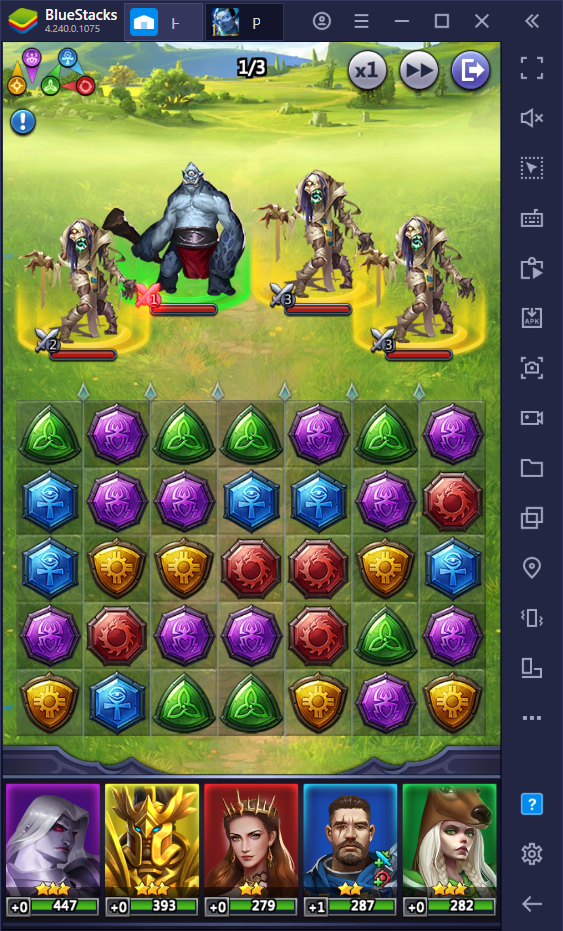 How to Play Puzzles & Conquest on PC with BlueStacks