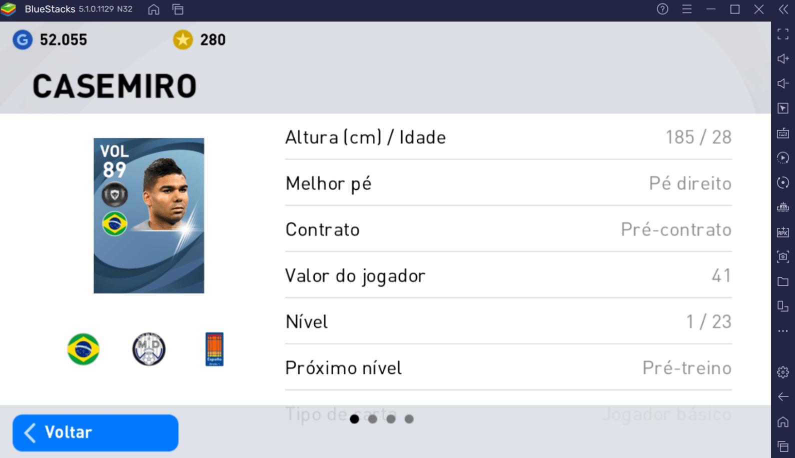 Contrate os 5 melhores jogadores brasileiros em PES 2021 MOBILE