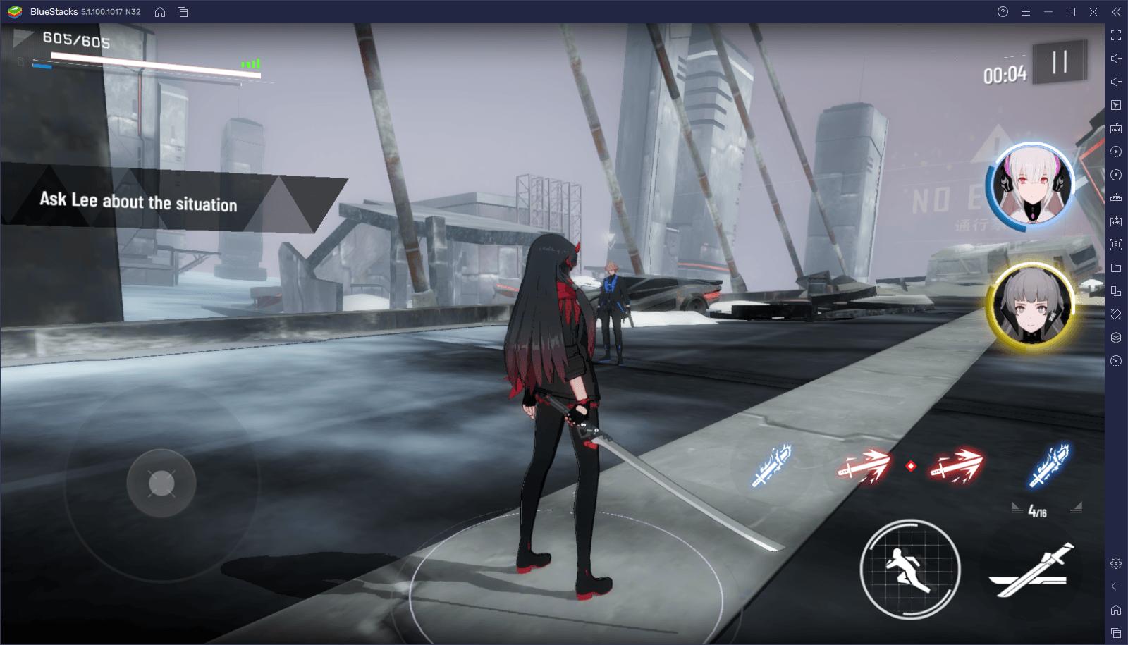 Punishing: Gray Raven – Wie du BlueStacks' Werkzeuge benutzt, um deine Leistung zu maximieren