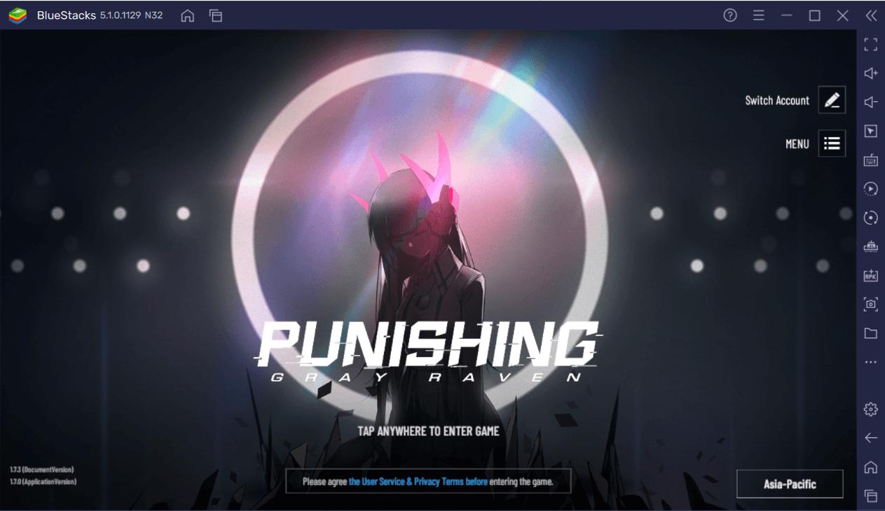 Wie du Punishing: Gray Raven auf dem PC mit BlueStacks spielst