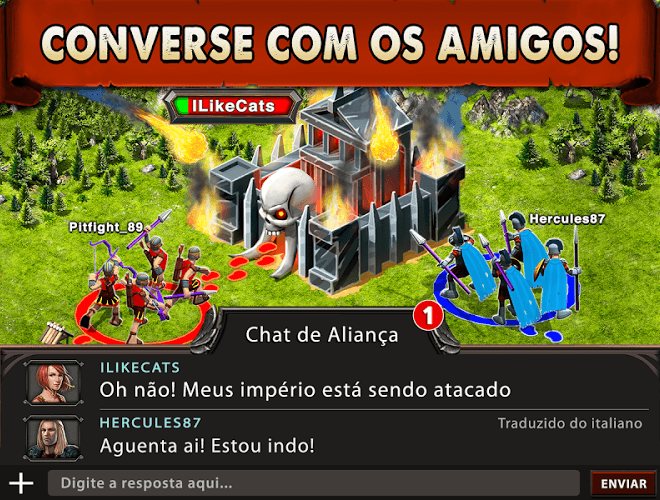 Jogue Game of War on pc 17
