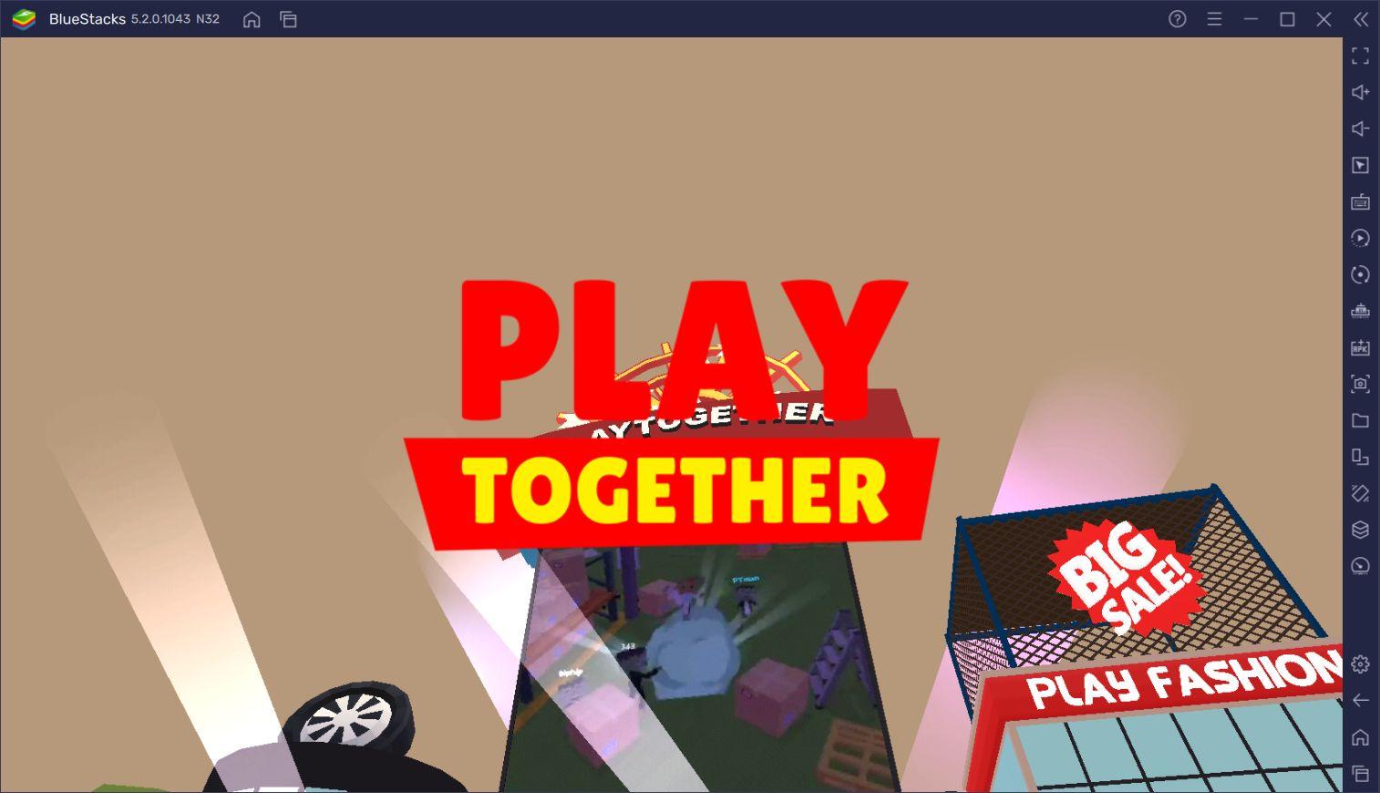 Play Together İçin Yeni Başlayanlar Rehberi