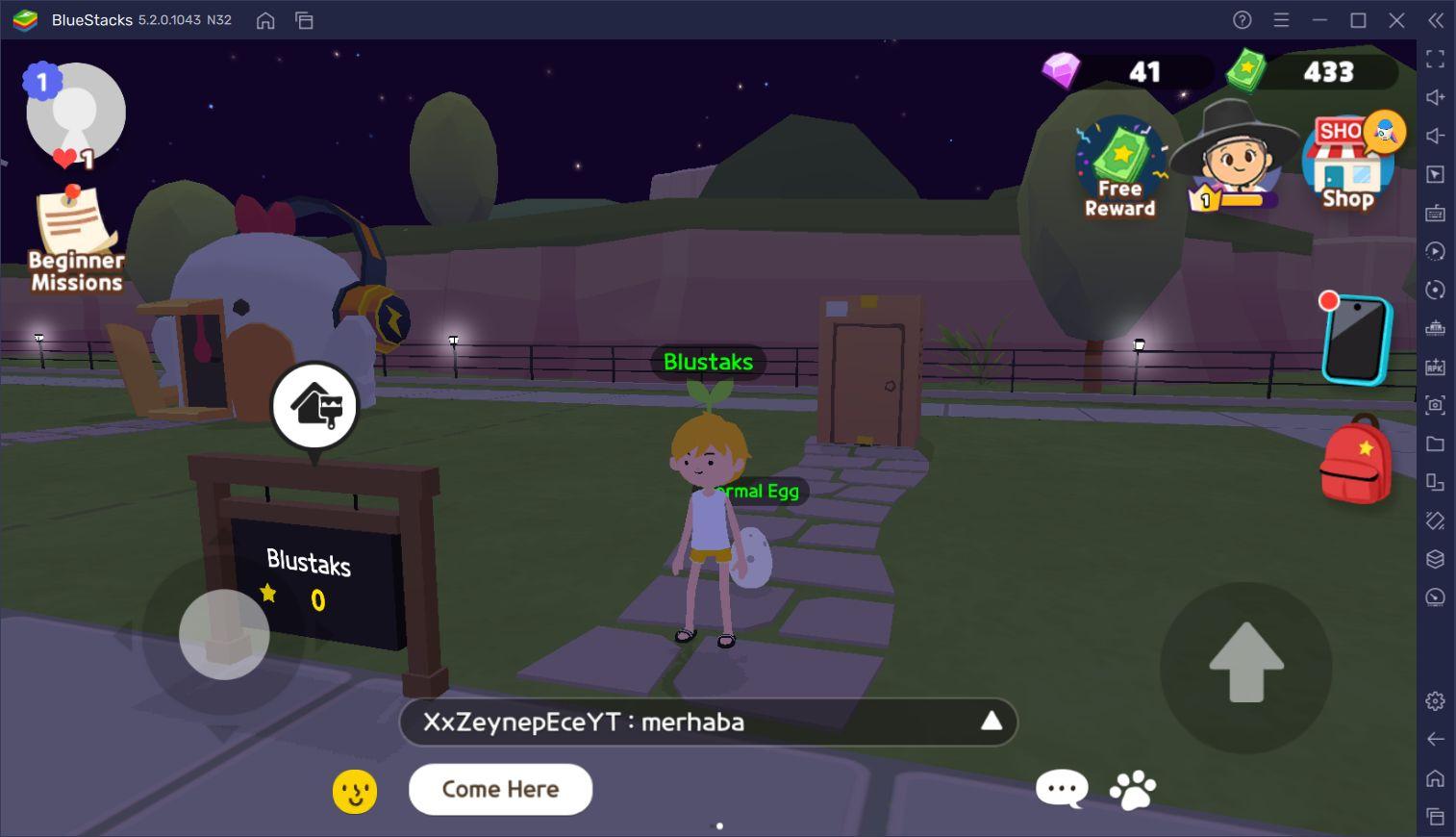 Play Together Oyununda Kendinize Ait Bir Eviniz Olabilir