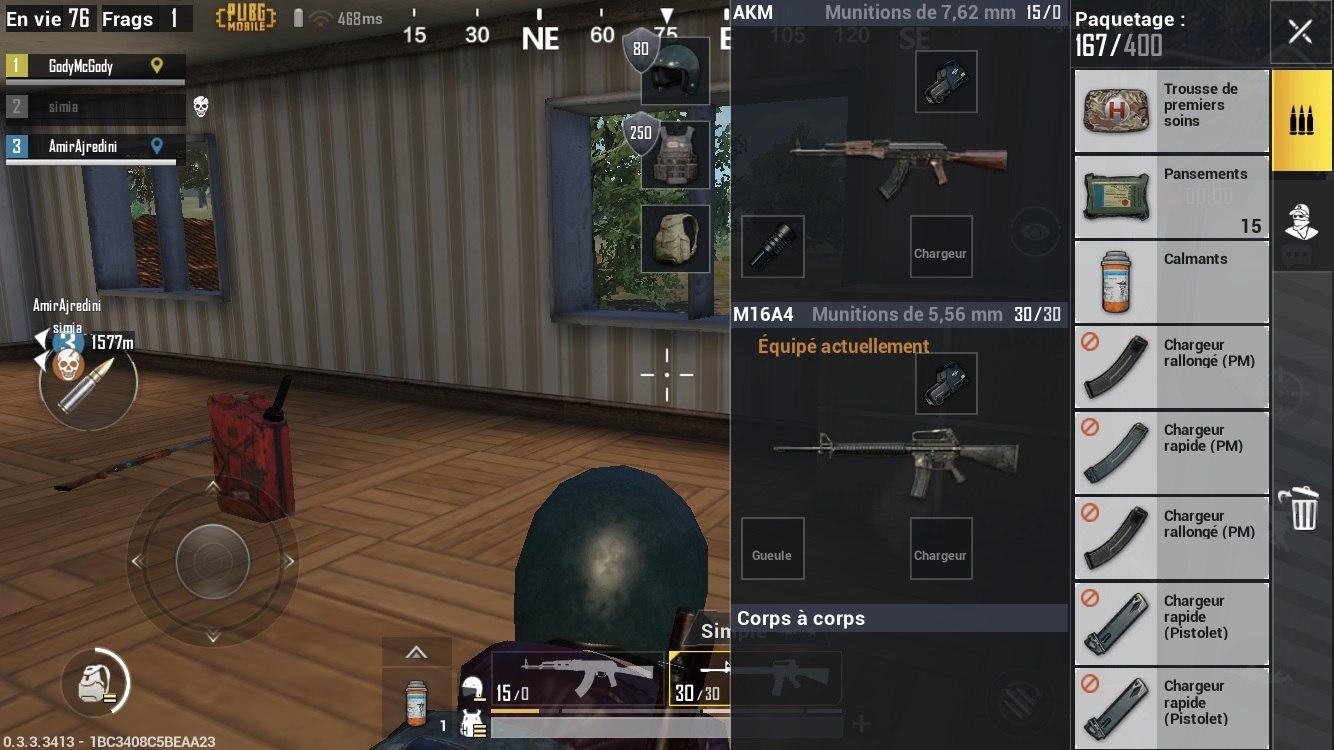 Guide des combats dans PUBG Mobile