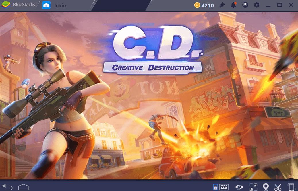 PUBG, CrossFire ou Creative Destruction? Qual escolher?