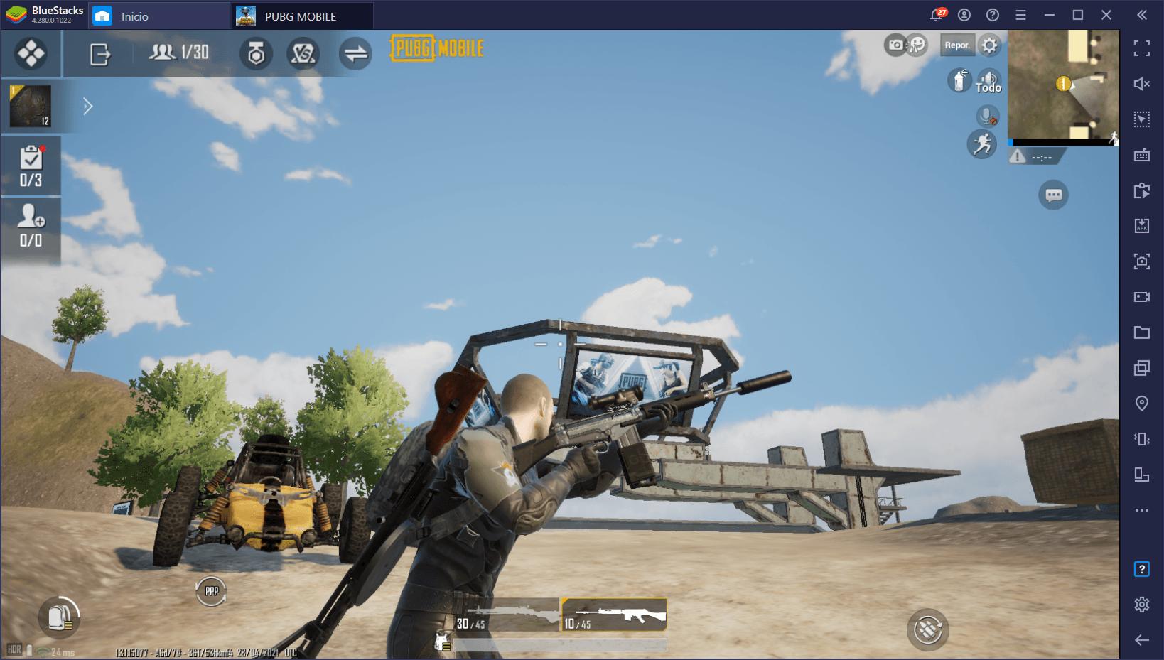 PUBG Mobile – Las Mejores Armas del Juego (Abril 2021)