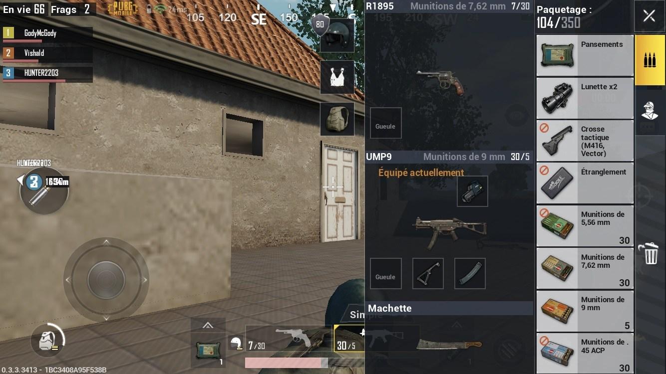 Guide des armes dans PUBG Mobile