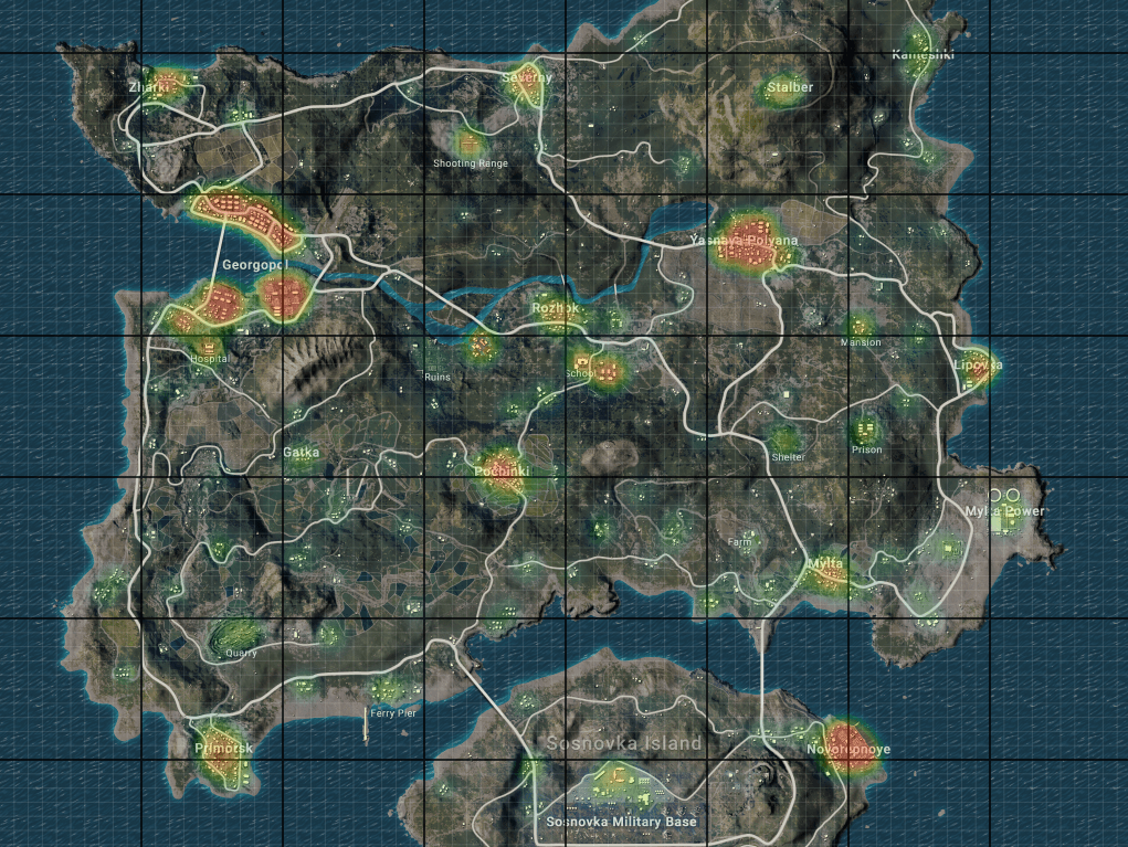 Pubg Mobile Erangel Map Review Everything You Need To Know About