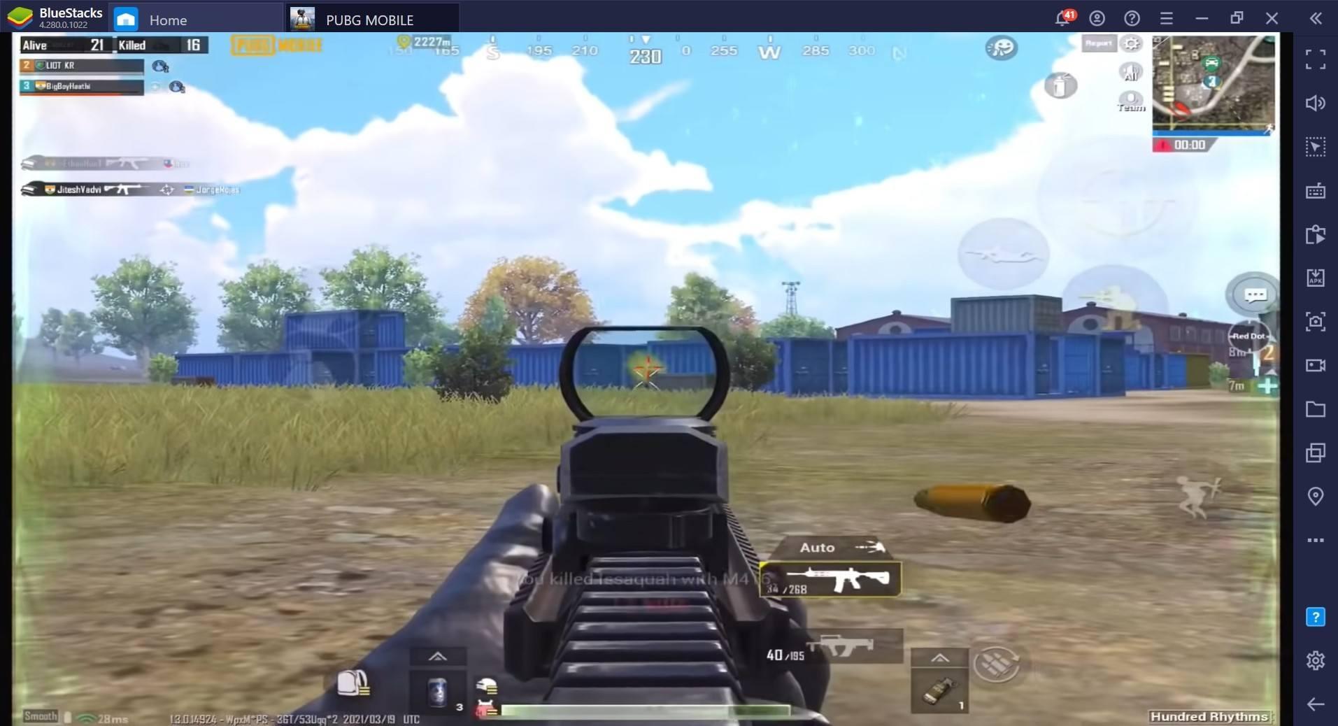 القتلى على المركبات : دليل محاكي BlueStacks للمركبات في لعبة  PUBG Mobile