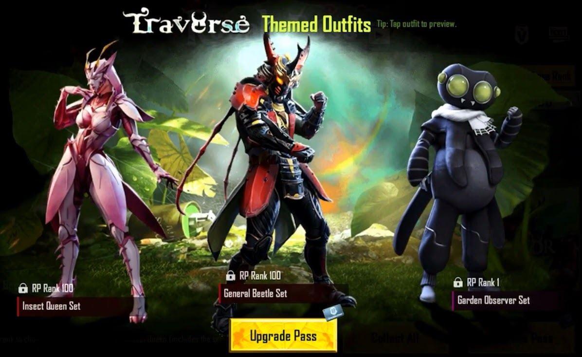 В PUBG Mobile стартовал 19 тематический сезон под названием Traverse