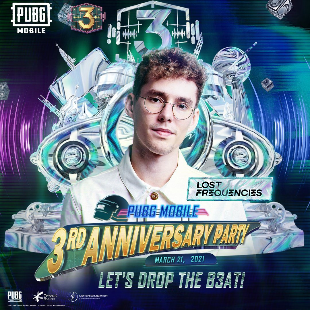 PUBG Mobile Reveals Alesso as the Special Guest for 3rd Anniversary Party