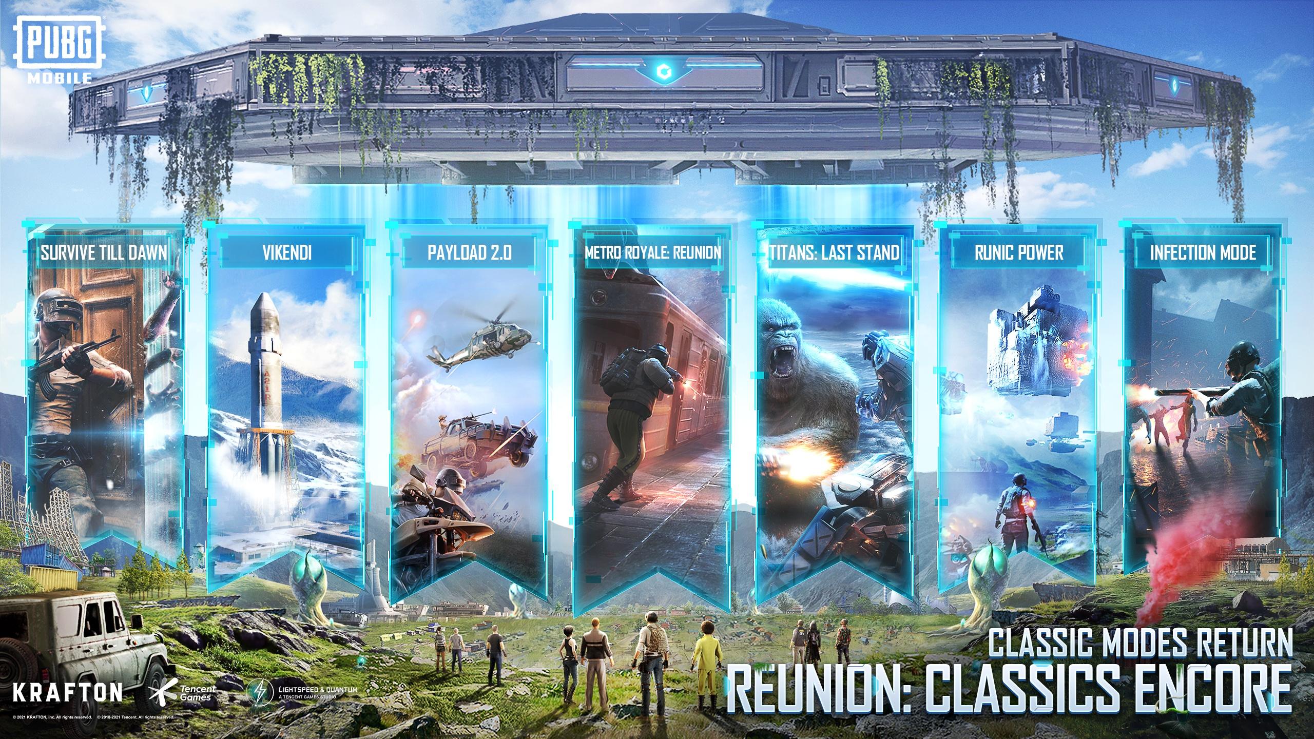 Classic Game Modes Make a Return in PUBG Mobile