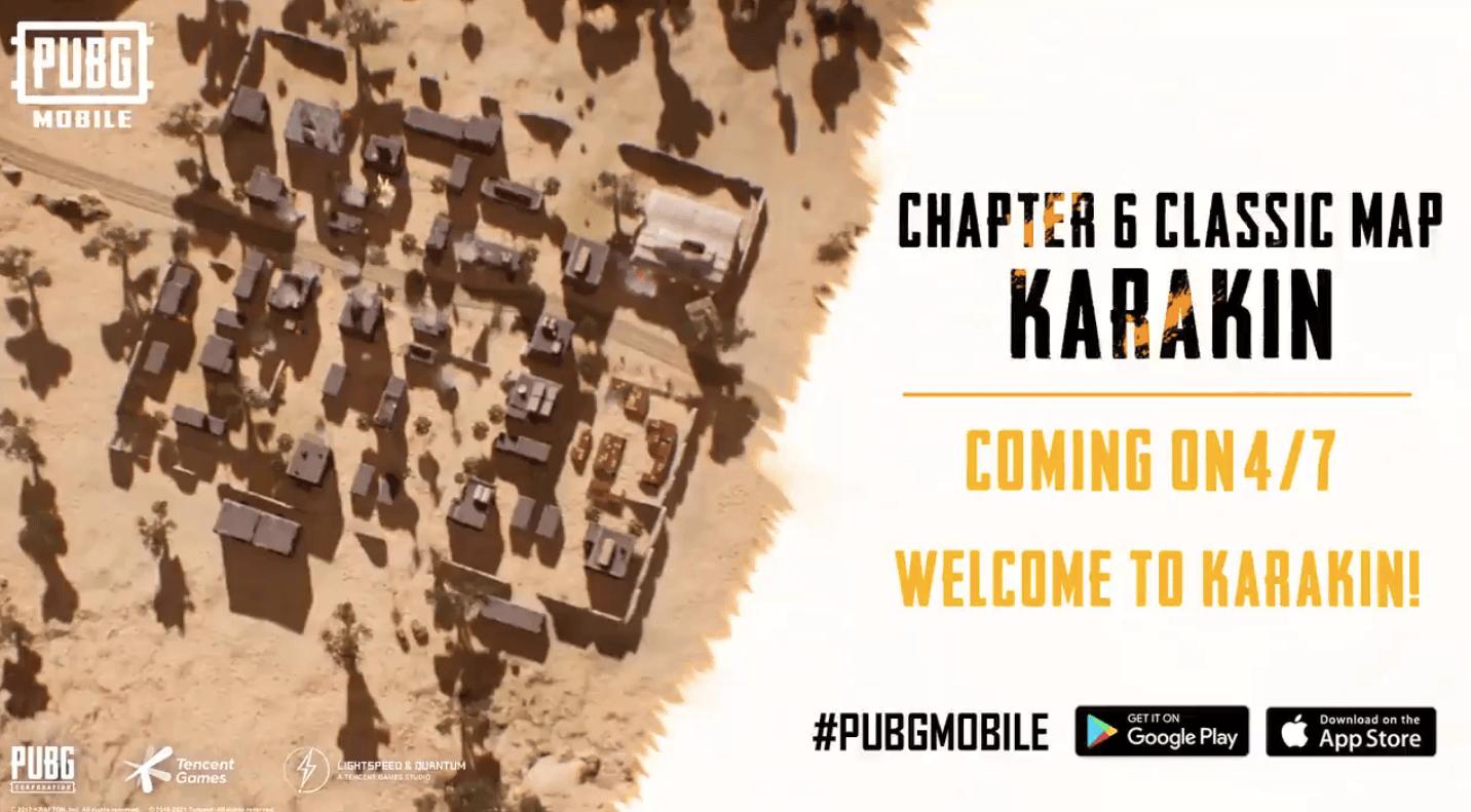 PUBG Mobile to Add 'Karakin' to Map Pool on April 7