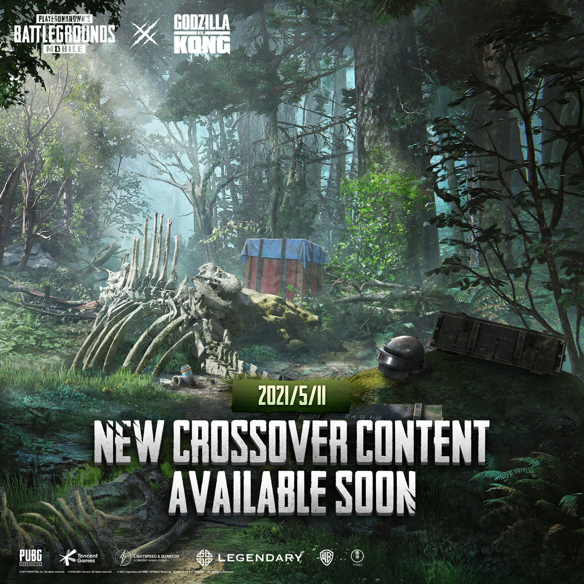 PUBG Mobile Tease Reveals New Content From Godzilla Vs Kong Crossover