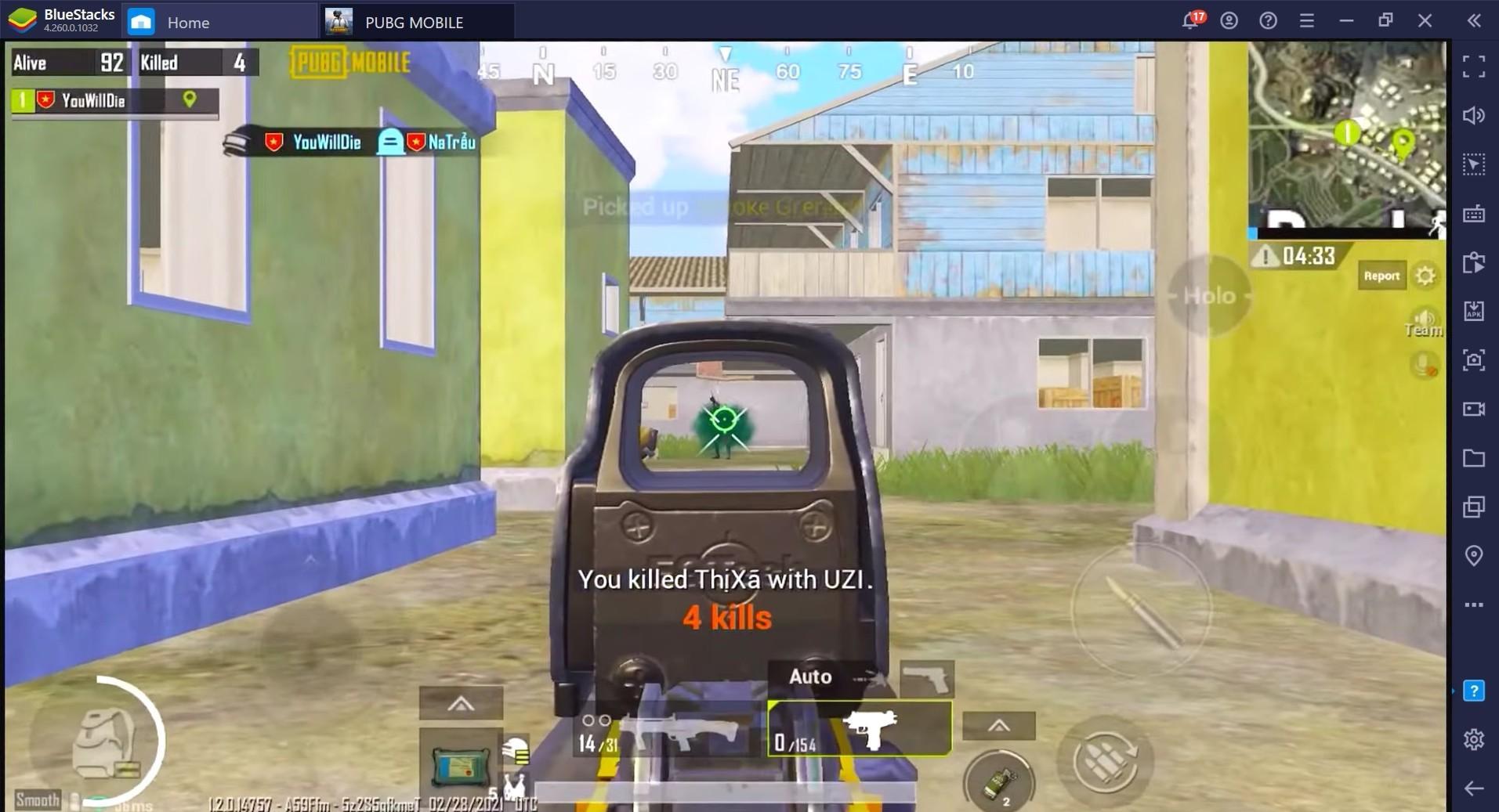 دليل سلاح البندقية الهجومية من مصنع أسلحة سانت إتيان (FAMAS) في لعبة PUBG Mobile: يجب إدارة ارتدادها