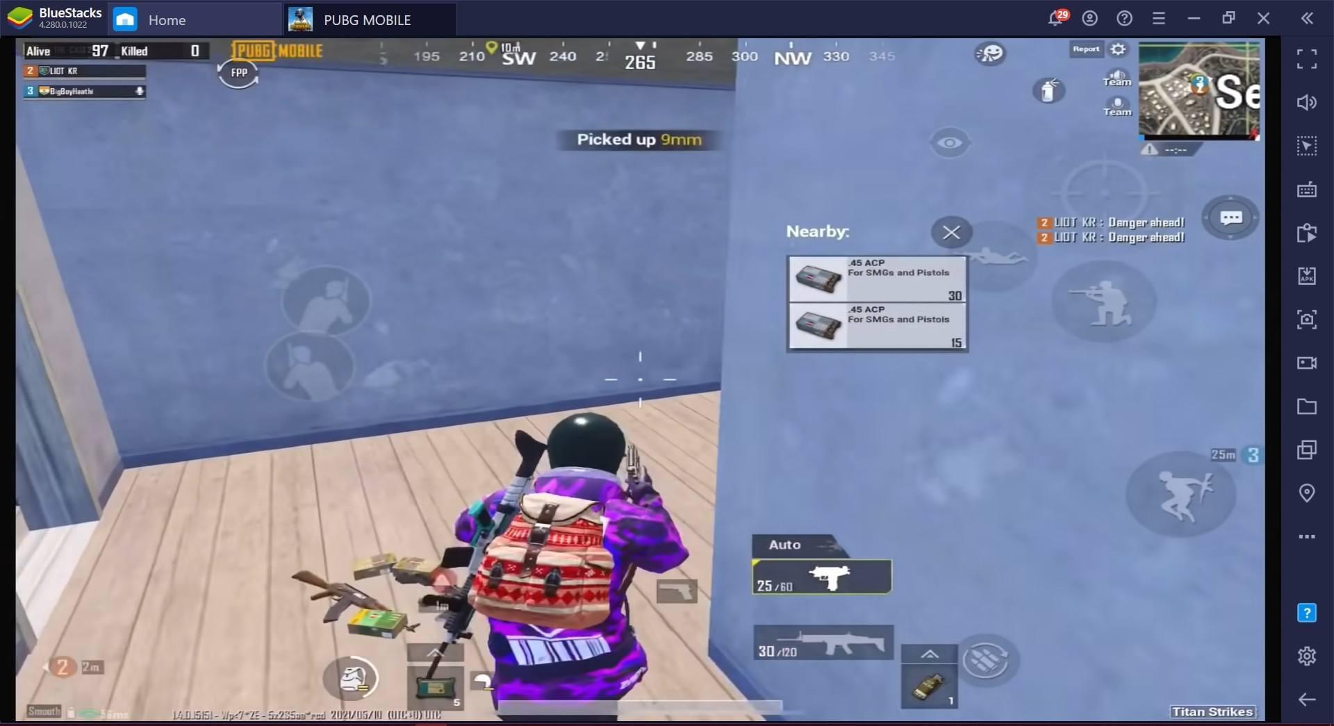 دليل BlueStacks لمعدات العلاج في لعبة PUBG Mobile