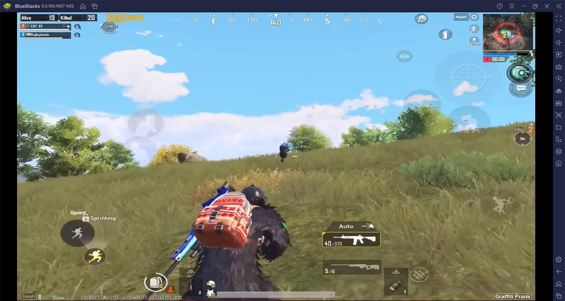 منظور الشخص الثالث ضد منظور الشخص الأول: دليل BlueStacks للمنظور في لعبة PUBG Mobile