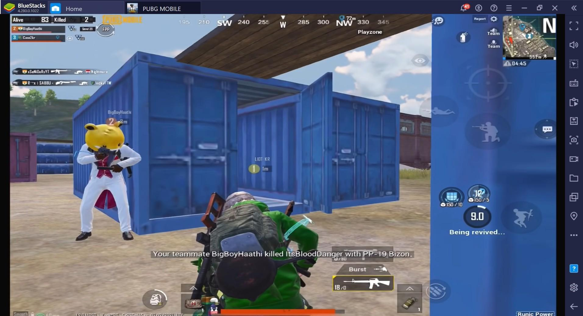 PUBG Mobile Game Guide for Team Deathmatch and Peeking