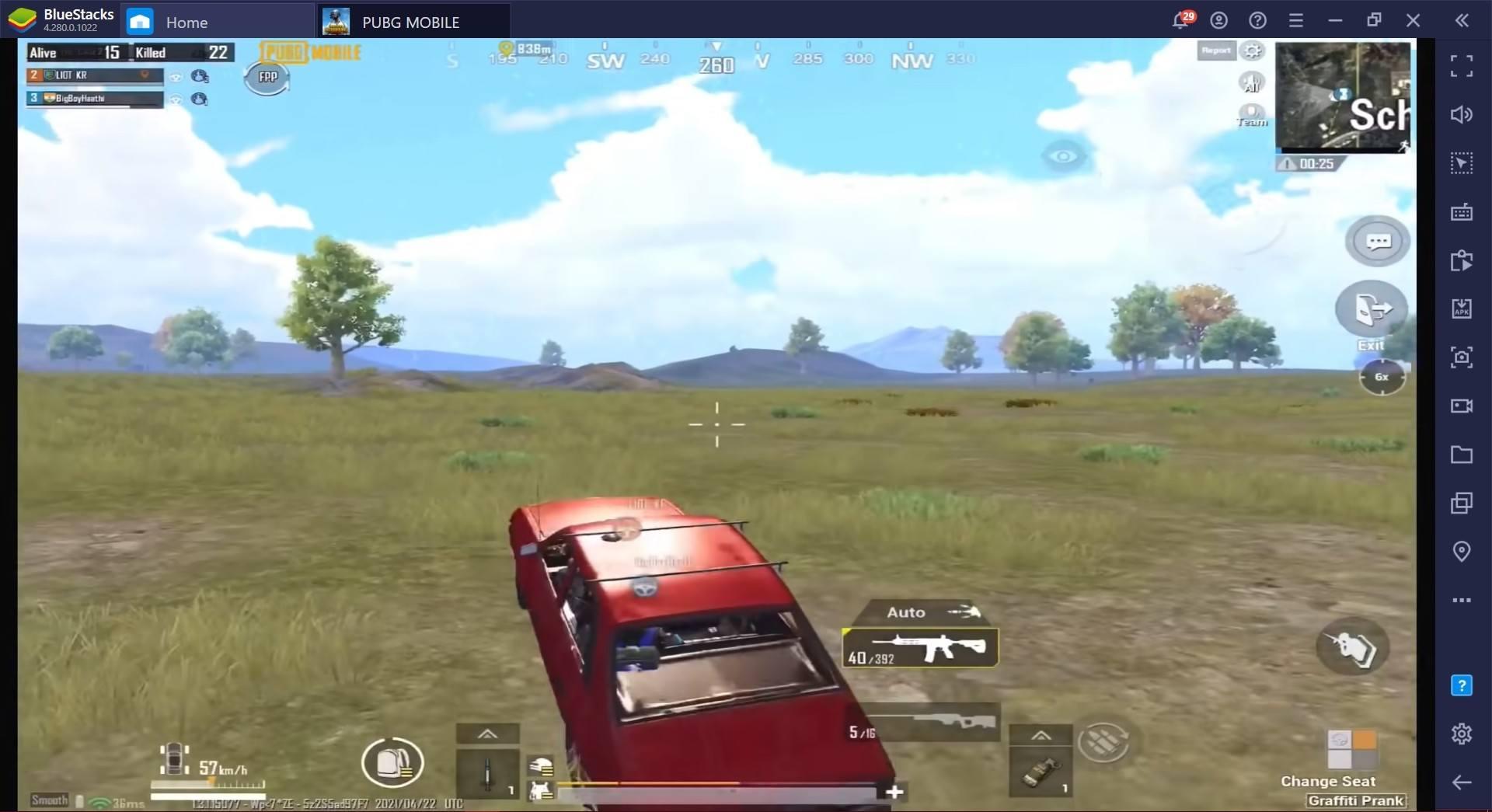 Chơi PUBG Mobile trên PC: Nên chọn góc nhìn thứ 1 hay thứ 3