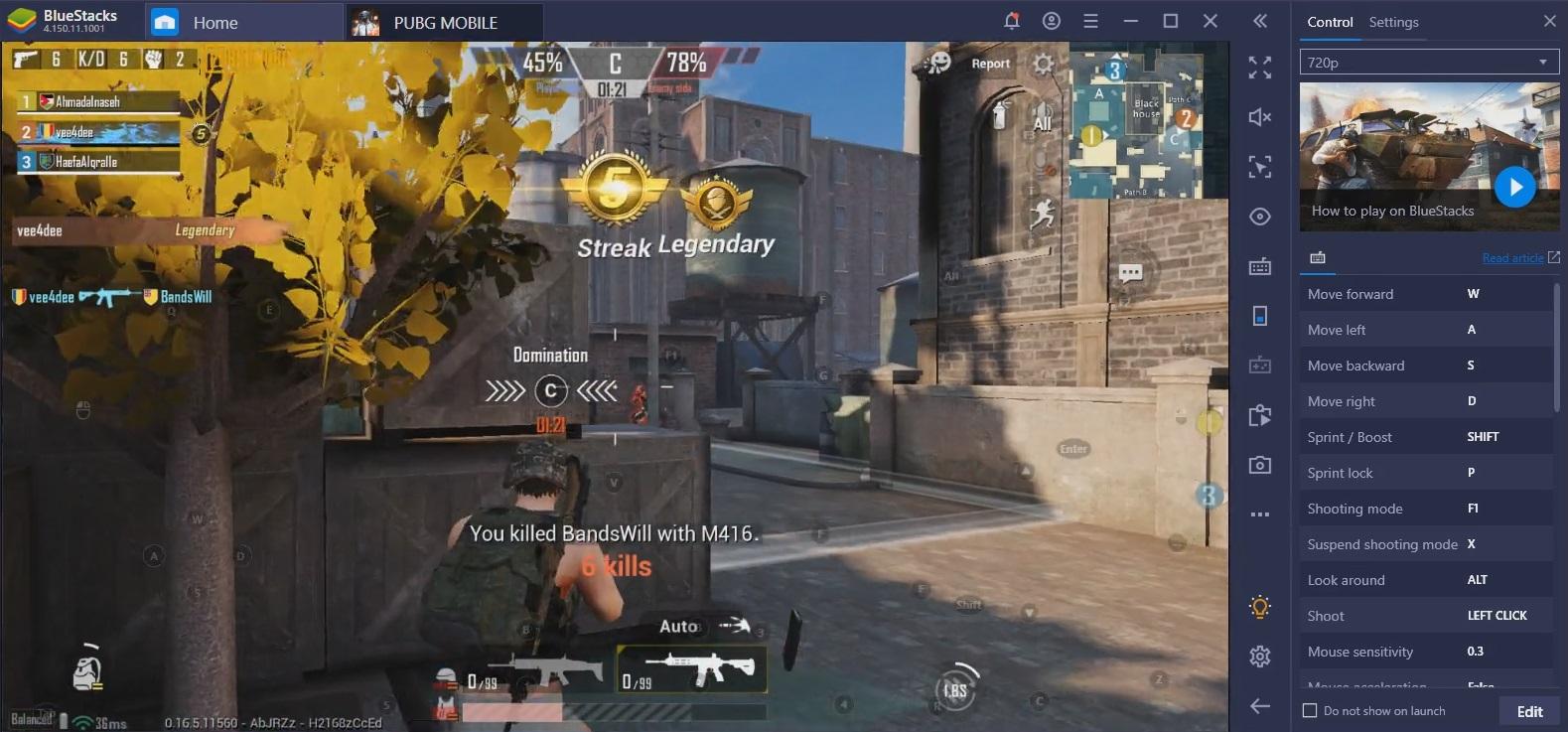 PUBG Mobile على جهاز الكمبيوتر: تم تحديث دليل أسلحة BlueStacks لعام 2020