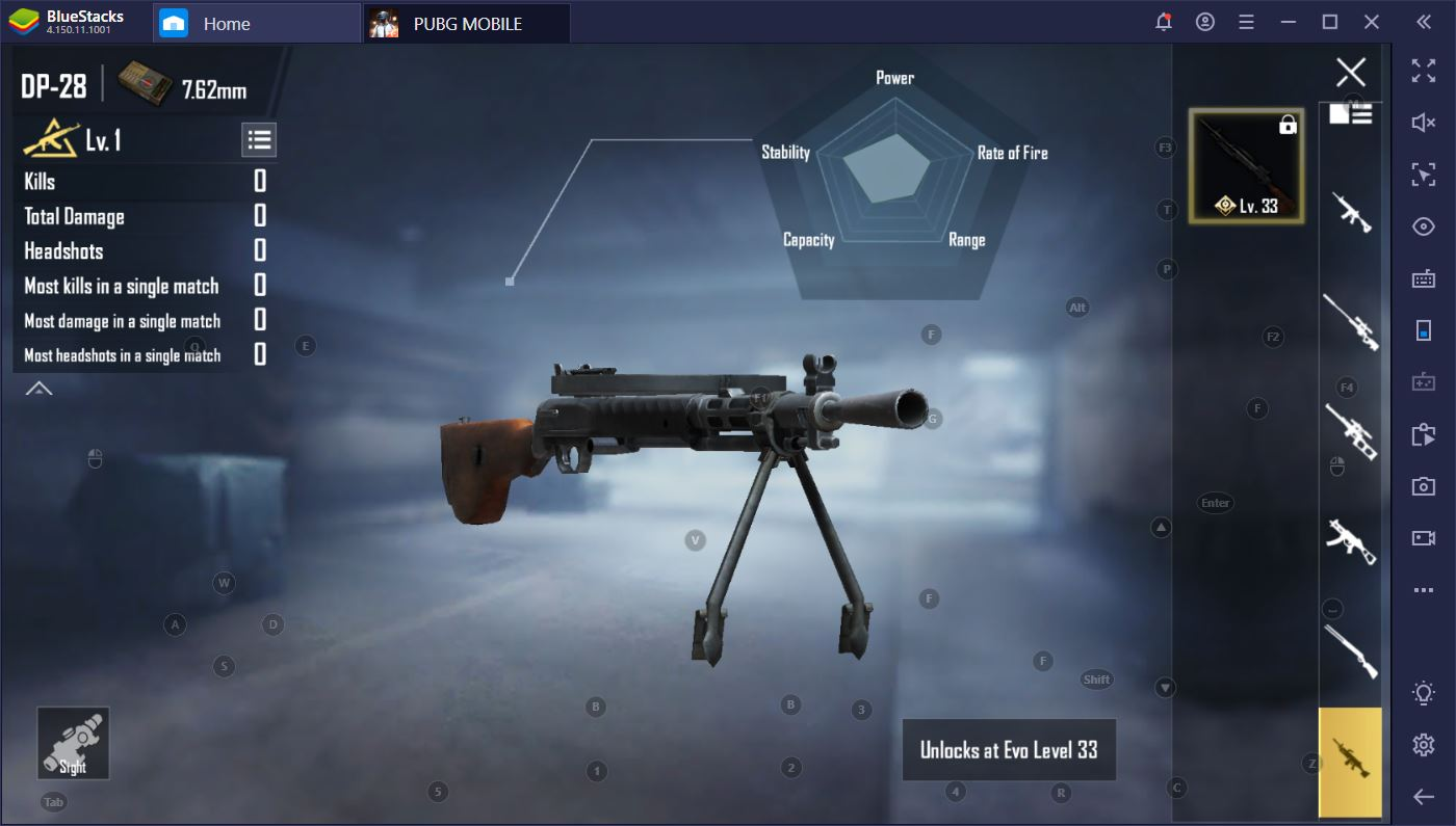 PUBG Mobile on PC: Updated BlueStacks Weapon Guide for 2020