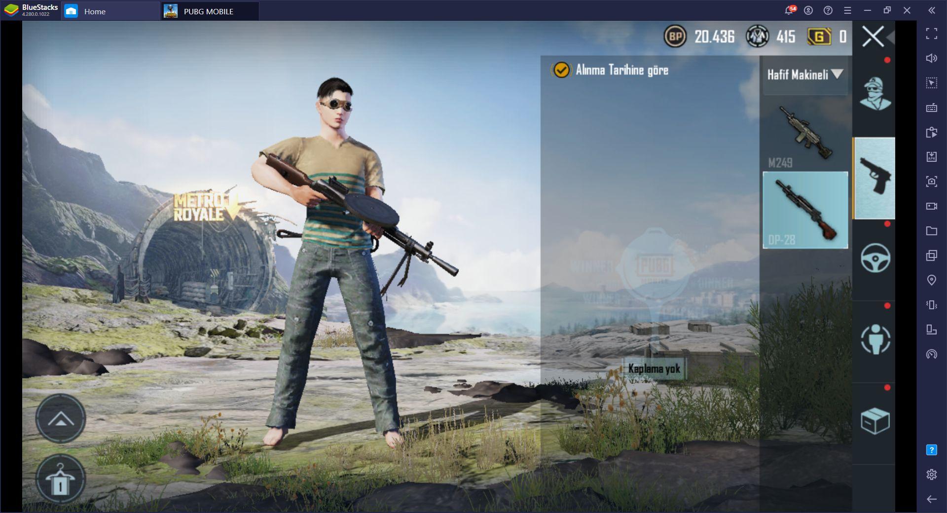 PUBG Mobile Güncel Silah Rehberi – 2021