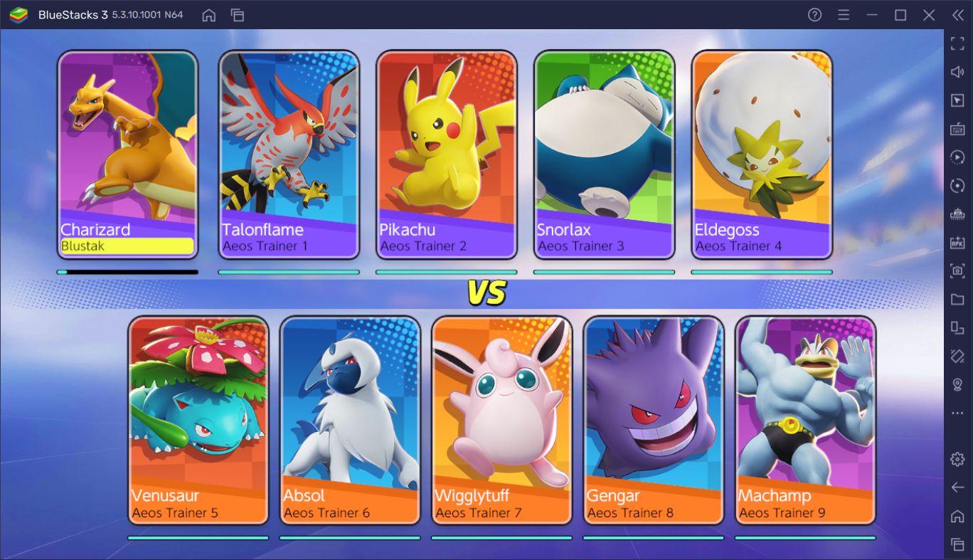 Pokémon Unite BlueStacks Optimizasyon Rehberi