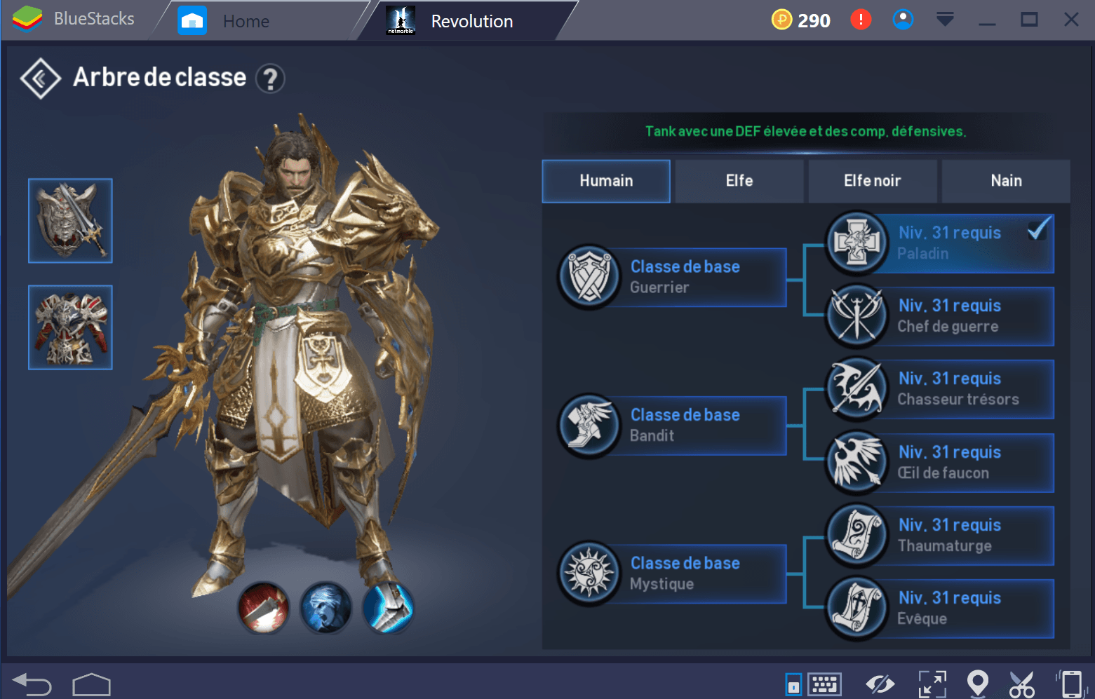 Lineage 2 Paladin Fr